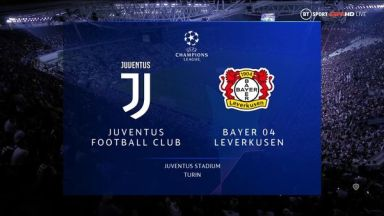 Full match: Juventus vs Bayer Leverkusen