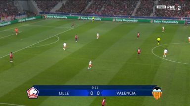 Full match: Lille vs Valencia