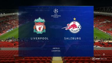 Full match: Liverpool vs Salzburg