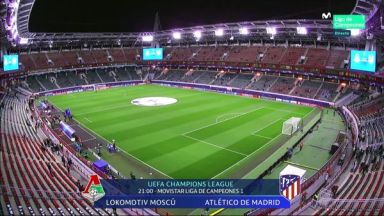 Full match: Lokomotiv Moscow vs Atletico Madrid