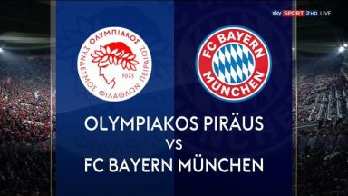 Full match: Olympiakos Piraeus vs Bayern Munich