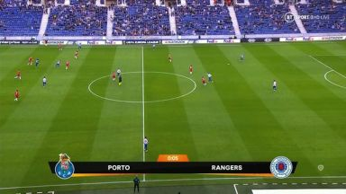 Full match: Porto vs Rangers