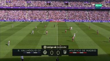 Full match: Real Valladolid vs Atletico Madrid
