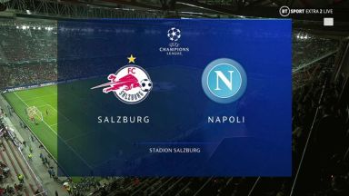 Full match: Salzburg vs Napoli