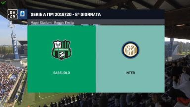 Full match: Sassuolo vs Inter Milan