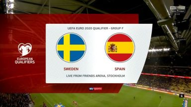 Full match: Sweden vs Spain