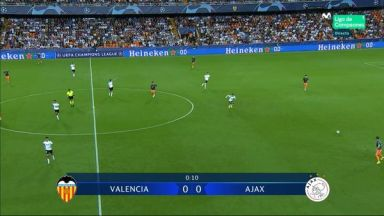 Full match: Valencia vs Ajax