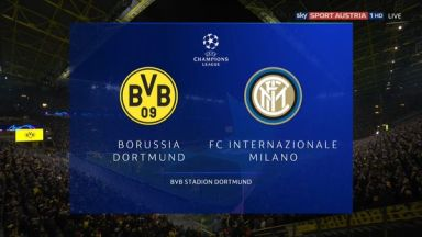 Full match: Borussia Dortmund vs Inter Milan