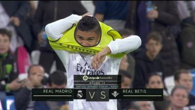 Full match: Real Madrid vs Real Betis