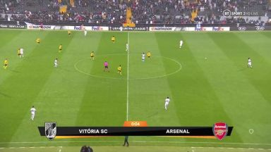 Full match: Vitoria Guimaraes vs Arsenal