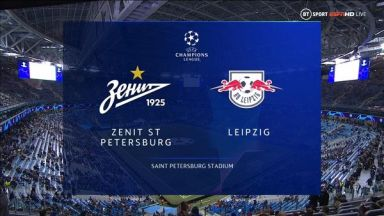 Full match: Zenit vs RB Leipzig