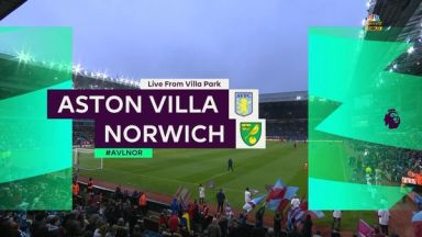 Full match: Aston Villa vs Norwich City
