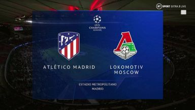 Full match: Atletico Madrid vs Lokomotiv Moscow