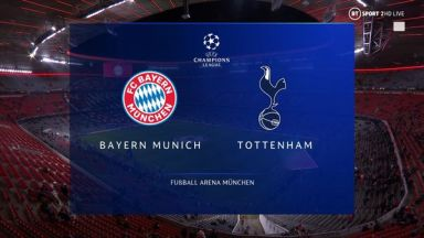 Full match: Bayern Munich vs Tottenham Hotspur