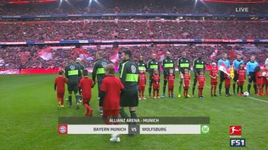 Full match: Bayern Munich vs Wolfsburg
