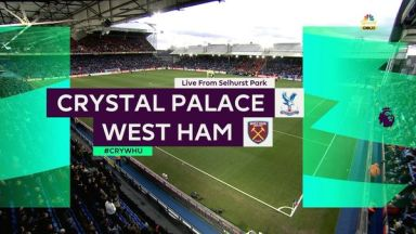 Full match: Crystal Palace vs West Ham United
