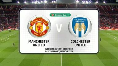 Full match: Manchester United vs Colchester United