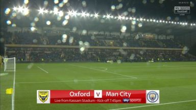 Full match: Oxford United vs Manchester City