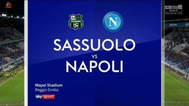 Full match: Sassuolo vs Napoli