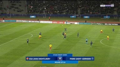 Full match: Linas-Montlhery vs PSG
