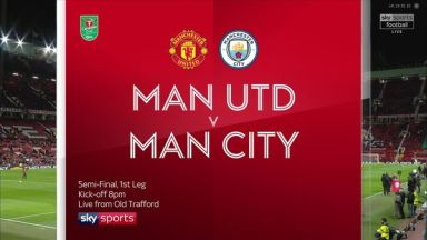 Full match: Manchester United vs Manchester City