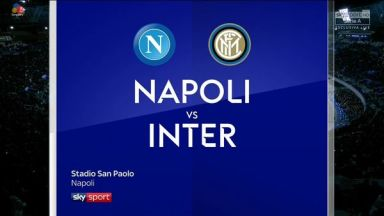 Full match: Napoli vs Inter Milan