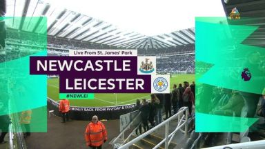 Full match: Newcastle United vs Leicester City