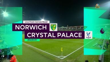 Full match: Norwich City vs Crystal Palace