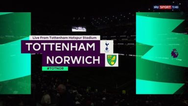 Full match: Tottenham Hotspur vs Norwich City