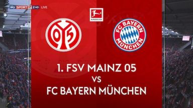 Full match: Mainz 05 vs Bayern Munich