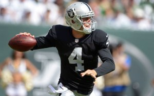 Derek Carr - USA Today Photo