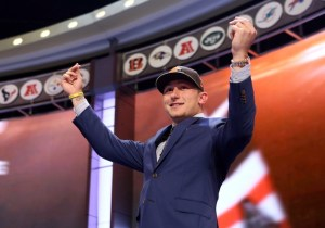 Johnny Manziel of the Cleveland Browns