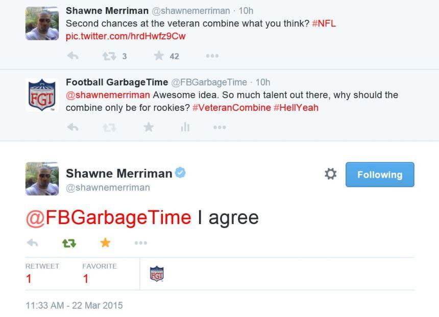 Shawne Merriman - Veterans Combine