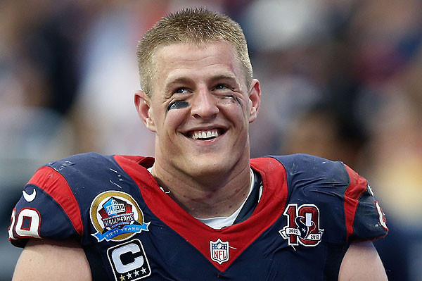 Sex, Lives and Football (Players): Watt's Up with J.J. Watt?