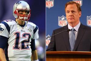 Brady and Goodell - DeflateGate