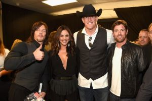 J.J. Watt and at CMT Awards - Getty Images