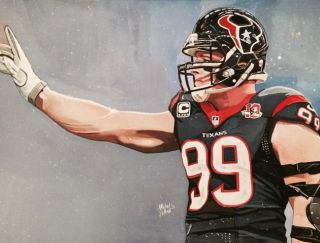 J.J. Watt by Michael Pattison