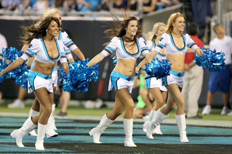 carolina-panthers cheerleaders