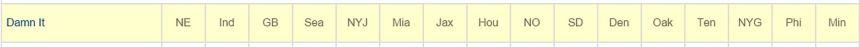 JHK Week 1 Picks
