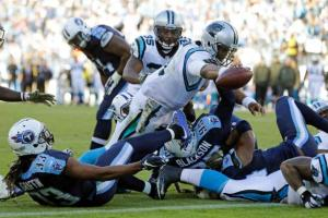 Cam Newton - AP Photo