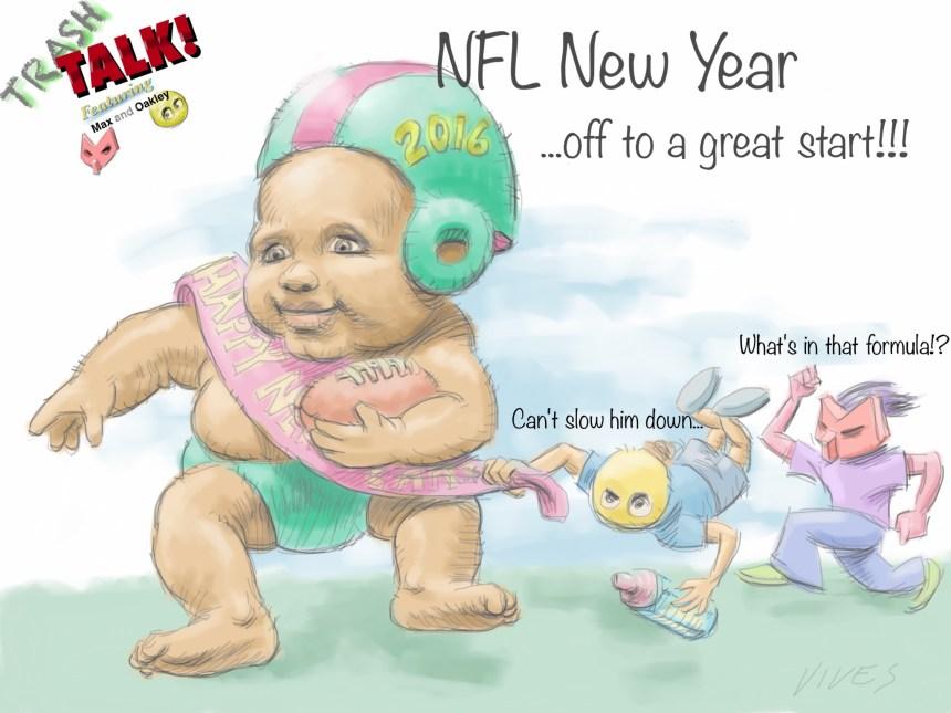 Trash Talk New Years