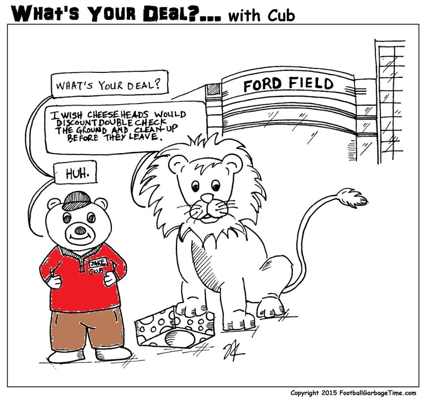 What's Your Deal - Detroit Lions and Cheesehead