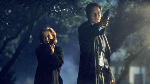Mulder and Scully still investigating 'Deflate Gate'. (photo courtesy of geeksandsundry.com)