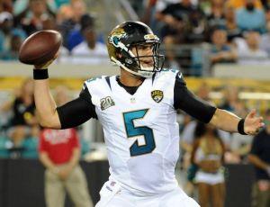 Blake Bortles Throwing