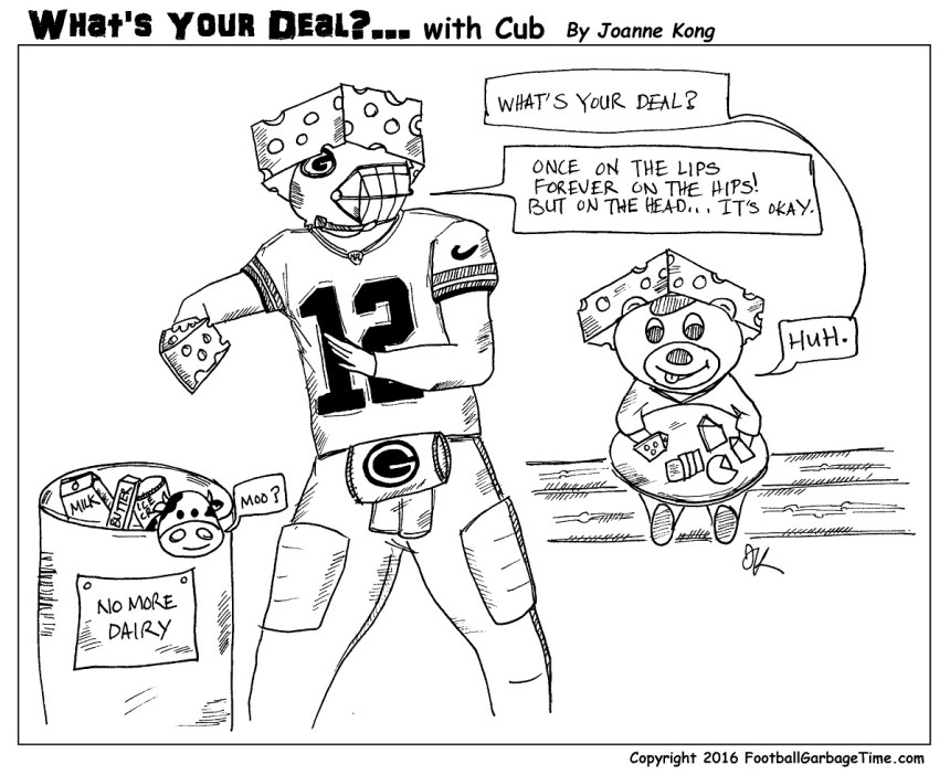Whats Your Deal - Aaron Rodgers - Medium