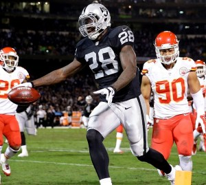 Latavius Murray - USA Today Sports Photo