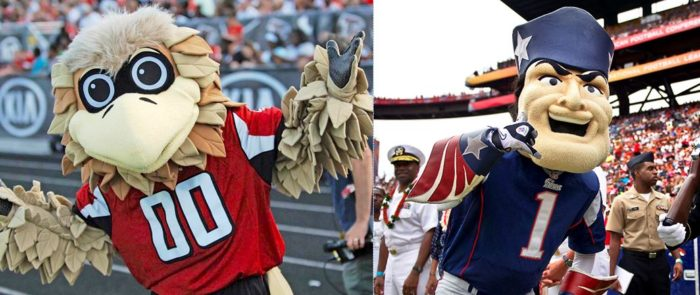 Sex, Lives and Football (Players) (kind-of): Super Bowl 51 Mascot Fever