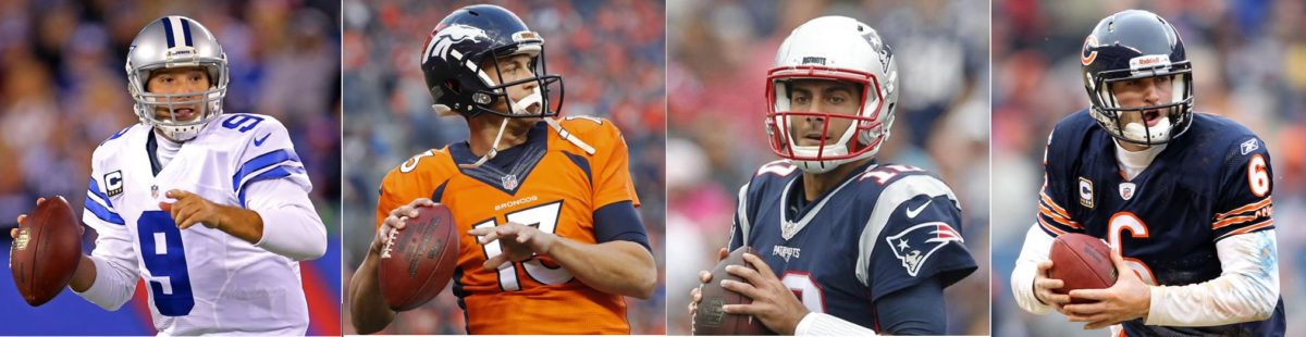 Same Faces, New Places: Quarterbacks With New Teams in 2017
