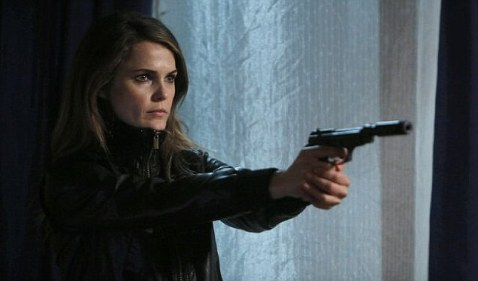 Keri Russell as a stone cold killer in The Americans.