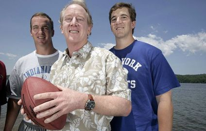 Archie, Peyton and Eli Manning